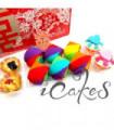 Rainbow Swiss Rolls (Guo Da Li Package)