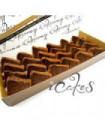 Chocolate Pandan Cake (Hi-Tea Set)