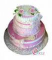 21St Tier Birthday Cake Design