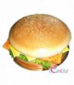 Burger Cake Design